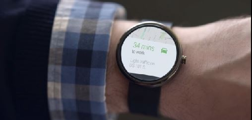 Mobile wearables: google android wear SDK